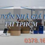 Dịch vụ chuyển nhà trọn gói, xe tải chở hàng tại TPHCM