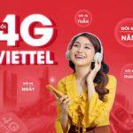 Gói Cước 4G Viettel, Đăng Ký Mạng Viettel Giá Rẻ – Viettel Data