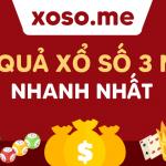 KQXS – XS – Xo so – Xổ Số Kiến Thiết 3 miền trực tiếp – XS3M